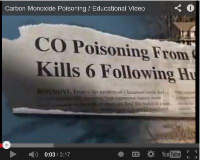 Carbon Monoxide Poisoning - Educational Video