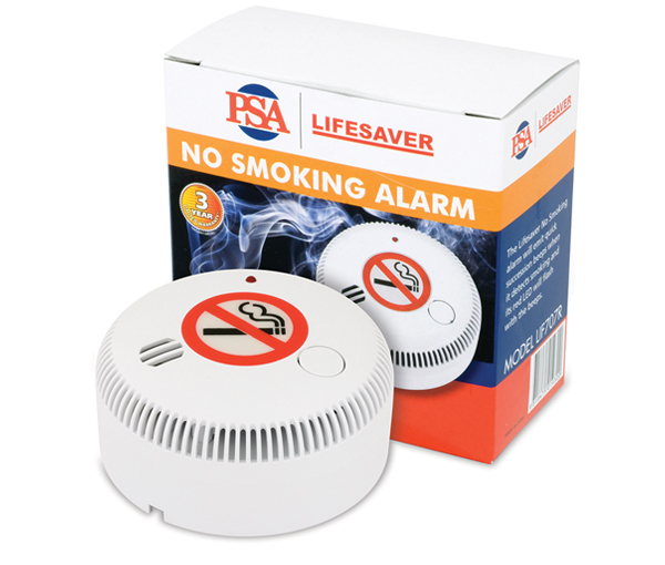 Lif707r 9vdc Cigarette Smoke Alarm Psa Products