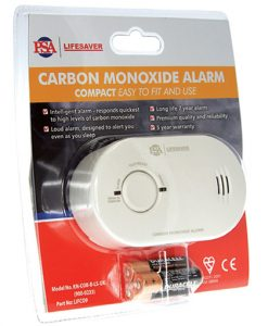A carbon monoxide alarm providing continuous monitoring of CO levels and protection against dangers of carbon monoxide.