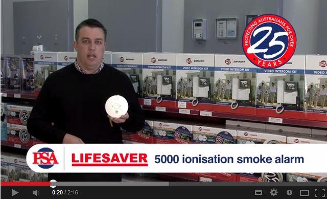 LIFESAVER LIF5000 Ionisation Smoke Alarm