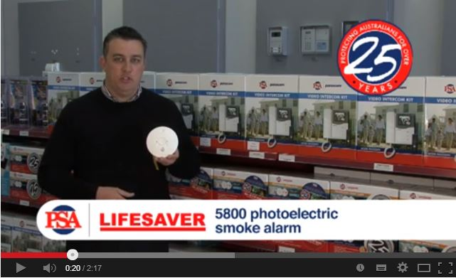 LIFESAVER LIF5800 Photoelectric Smoke Alarm