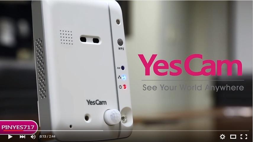 PSA Yescam 717 Indoor IP Wifi Camera