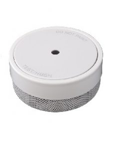 LIFPE10 Mini Smoke Alarm is the smallest battery operated smoke alarm in the PSA Lifesaver range measuring at 70mm x 33mm.
