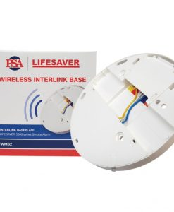 Wireless interconnect base to suit Lifesaver LIF5800/2 and LIF5800RL/2 smoke alarms.