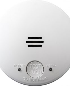 LIF5800ACF 240V Flush Smoke Alarm is a discreet mains powered photoelectric smoke alarm that operates on a 240V power source.